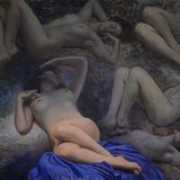 Estudos de nus – 60x80cm
