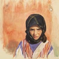 Menina marroquina – 40x50cm