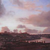 Nuvens sobre o Porto – 40x60cm