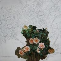 Roseira construcção – 80x80cm