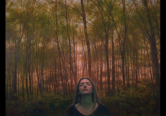 António Macedo The awakening - 120x160cm